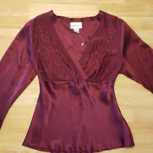 Worthington Silk Blouse